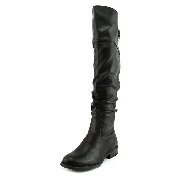 White Mountain Lacona Tall Boots Black, 5M