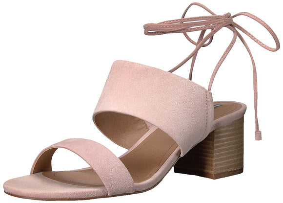 Tahari Doe Lace-Up Sandals Pink, 8M
