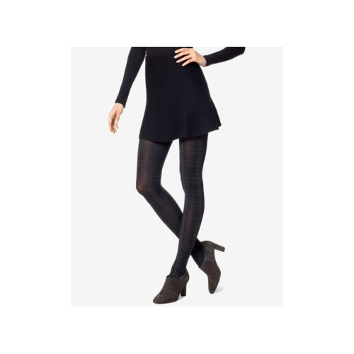 Hue - Plaid Control Top Tights - Regular - M