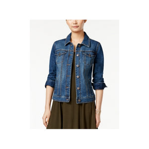Style & Co - Mosaic Wash Denim Jacket - Petite - P/M