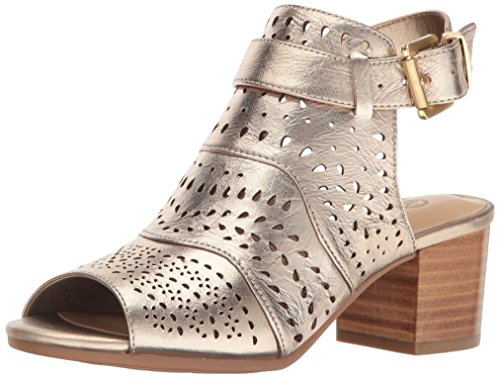 Bella Vita Women's Fonda Dress Sandal, Champagne, 10 M US