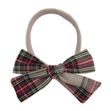 Bow Headband | Plaid