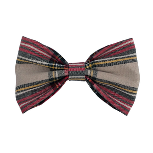 Bow Clip | Plaid