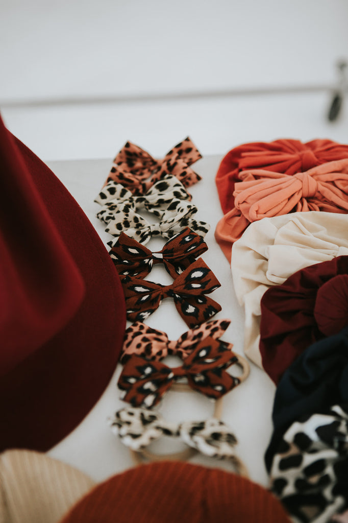 Bow Headband | Leopard