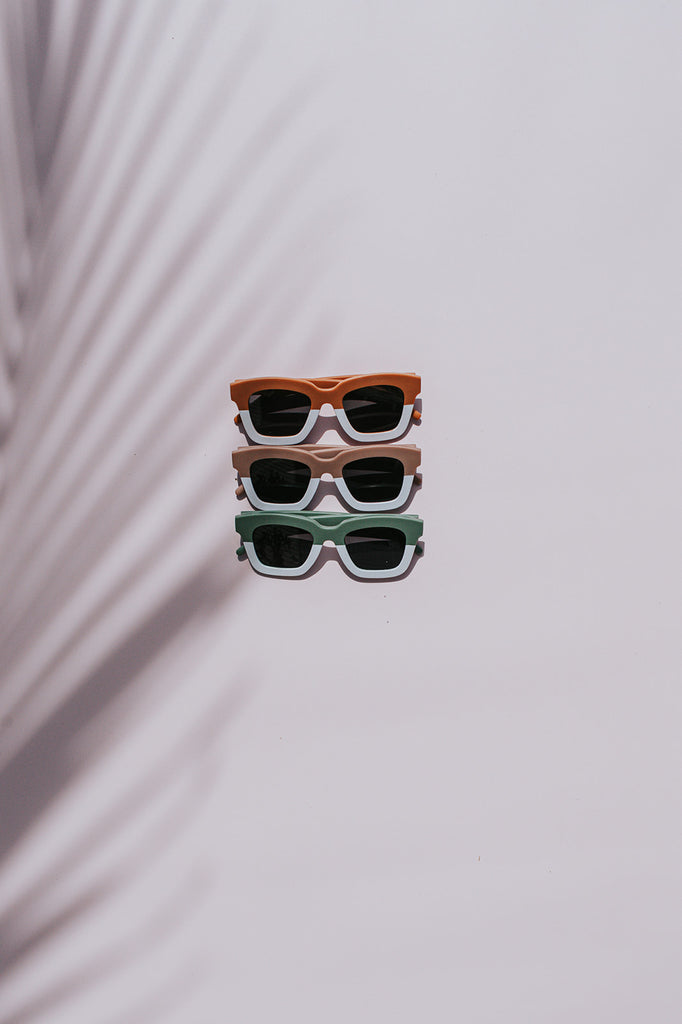 Malibu | Retro Two Tone Sunglasses