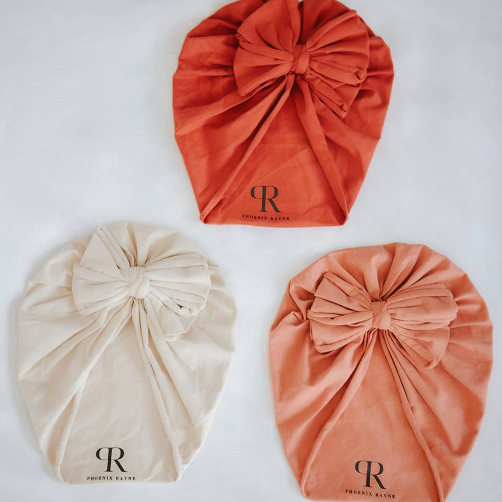 Bow Turban | Terracotta