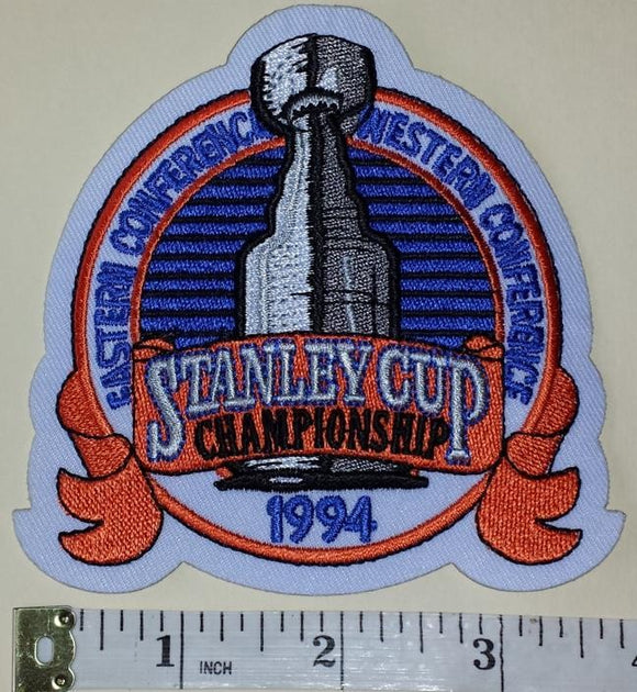 1994 STANLEY CUP FINALS NEW YORK RANGERS vs VANCOUVER CANUCKS NHL HOCKEY PATCH