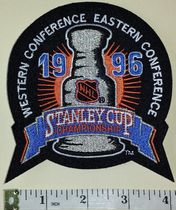 COLORADO AVALANCHE 1996 STANLEY CUP CHAMPIONS NHL HOCKEY EMBLEM CREST PATCH