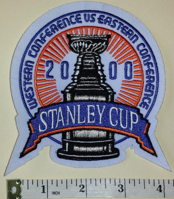 NEW JERSEY DEVILS 2000 STANLEY CUP CHAMPIONS NHL HOCKEY EMBLEM CREST PATCH