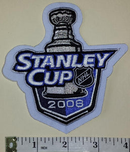 2008 STANLEY CUP FINALS DETROIT RED WINGS vs PITTSBURGH PENGUINS NHL CREST PATCH