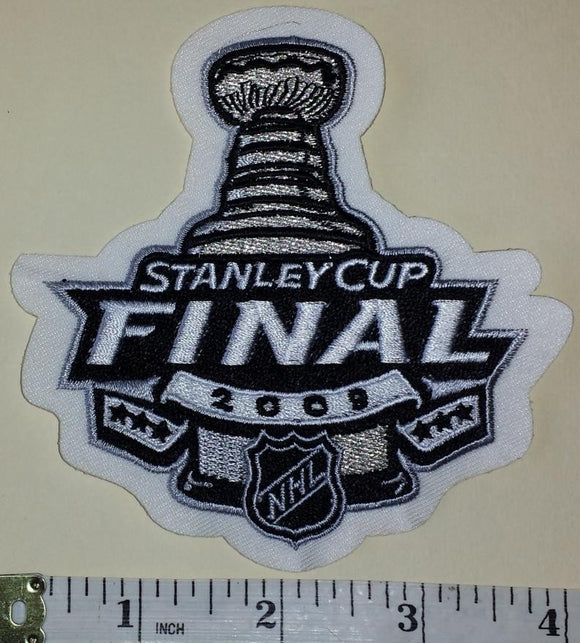 2009 STANLEY CUP FINALS PITTSBURGH PENGUINS vs DETROIT RED WINGS NHL CREST PATCH