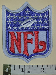 NFL FOOTBALL LOGO 25 STARS PATCH