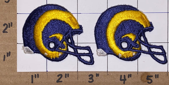 2 ST.LOUIS RAMS NFL FOOTBALL 2 1/2