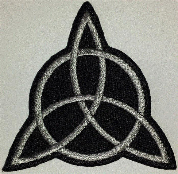 LED ZEPPELIN  JOHN PAUL JONES TRINITY SYMBOL MUSIC CREST EMBLEM PATCH