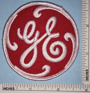 1 RARE GE GENERAL ELECTRIC LIGHTING RENEWABLE ENERGY EMPLOYEE CREST PATCH