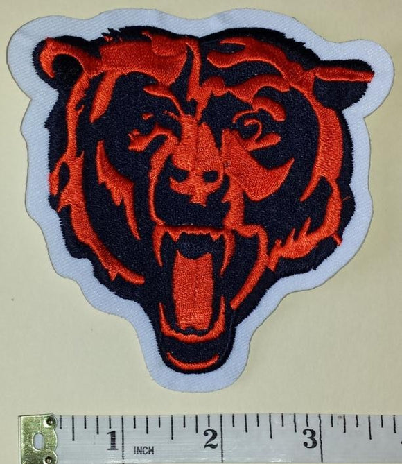 CHICAGO BEARS NFL FOOTBALL 4 inch PATCH