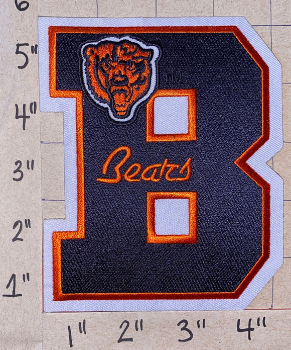 CHICAGO BEARS LETTER B NFL FOOTBALL 5
