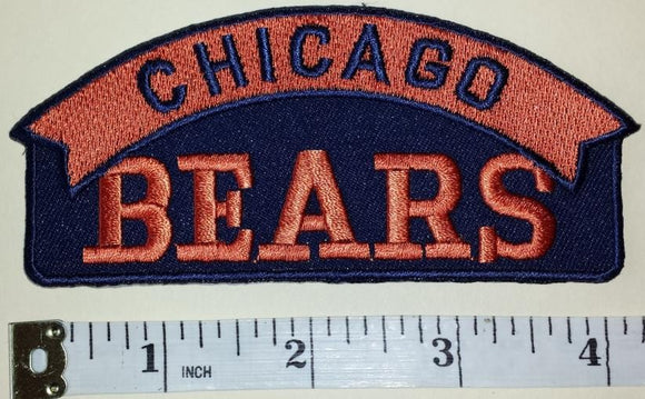 CHICAGO BEARS NFL FOOTBALL SHIELD PATCH