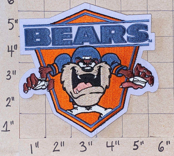 CHICAGO BEARS TAZMANIAN DEVIL NFL FOOTBALL 5