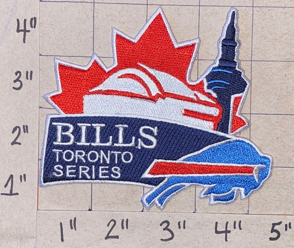 BUFFALO BILLS TORONTO SERIES NFL FOOTBALL PATCH