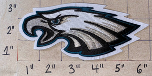 "1 PHILADELPHIA EAGLES NFL FOOTBALL 6"" JERSEY PATCH"