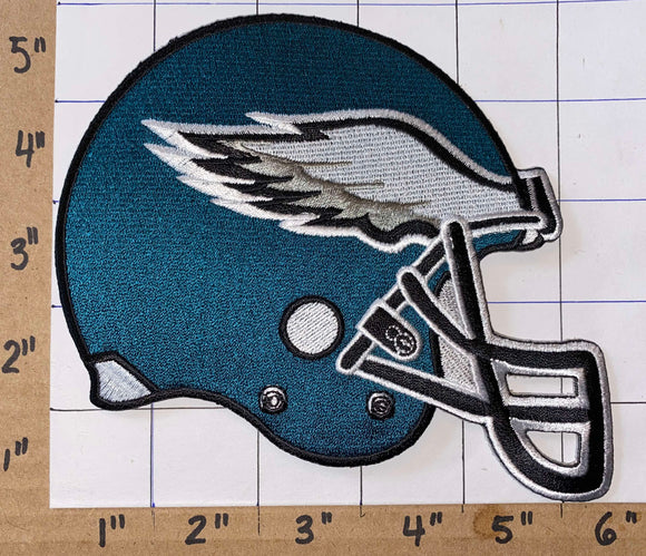 PHILADELPHIA EAGLES NFL FOOTBALL 5 inch HELMET PATCH