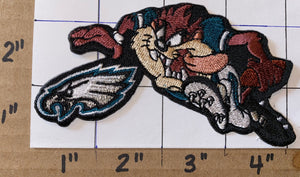 1 PHILADELPHIA EAGLES TAZMANIAN DEVIL NFL FOOTBALL PATCH