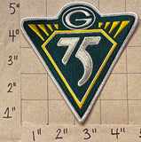 GREEN BAY PACKERS 75TH ANNIVERSARY NFL FOOTBALL PATCH