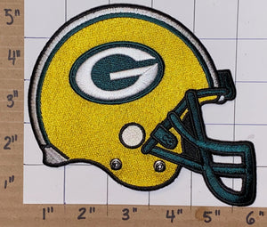 GREEN BAY PACKERS NFL FOOTBALL 5 inch HELMET PATCH