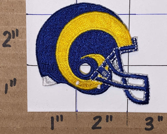 ST.LOUIS RAMS NFL FOOTBALL 2 inch HELMET PATCH