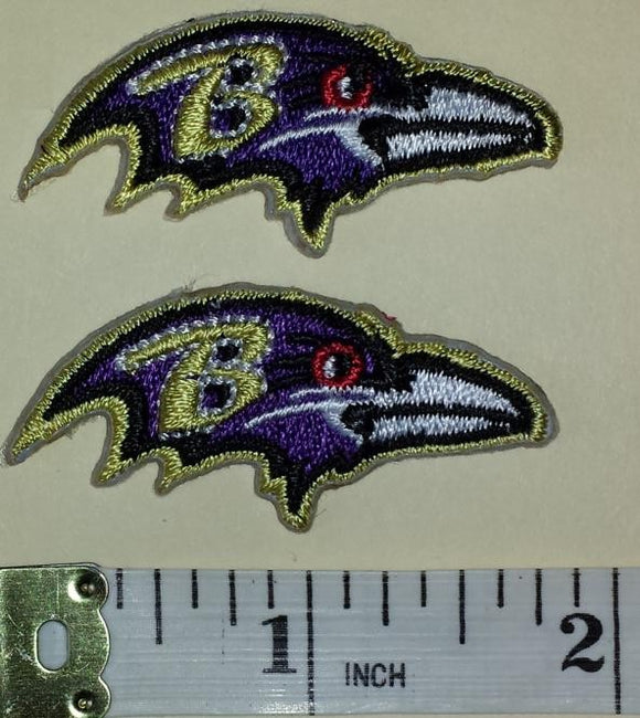 2 BALTIMORE RAVENS  NFL FOOTBALL JERSEY PATCH