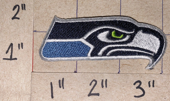 1 SEATTLE SEAHAWKS NEW NFL FOOTBALL JERSEY PATCH LOGO