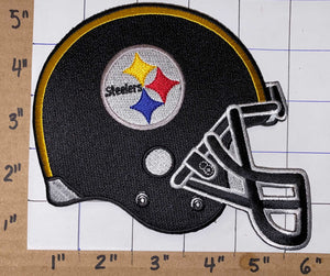 1 PITTSBURGH STEELERS NFL FOOTBALL 5 inch HELMET PATCH