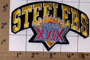 1 RARE PITTSBURGH STEELERS SUPER BOWL XXIX NFL FOOTBALL JERSEY PATCH PREMATURE