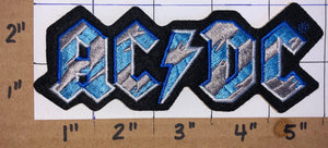 BLUE LIGHTNING ANGUS YOUNG ACDC AC/DC AUSTRALIAN HARD ROCK MUSIC BAND PATCH