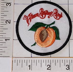 1 ALLMAN BROTHERS BAND PEACH AMERICAN ROCK BLUES JAZZ COUNTRY MUSIC PATCH