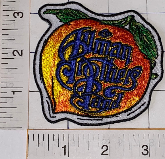 1 ALLMAN BROTHERS BAND PEACH AMERICAN ROCK BLUES JAZZ COUNTRY MUSIC CREST PATCH