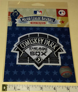 OFFICIAL COMISKEY PARK CHICAGO WHITE SOX MLB BASEBALL AUTHENTIC PATCH MIP