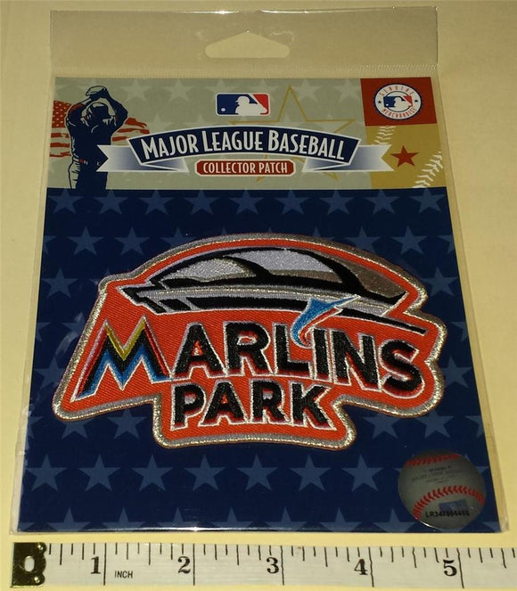 2012 OFFICIAL MIAMI MARLINS PARK INAUGURAL SEASON MLB BASEBALL EMBLEM PATCH MIP