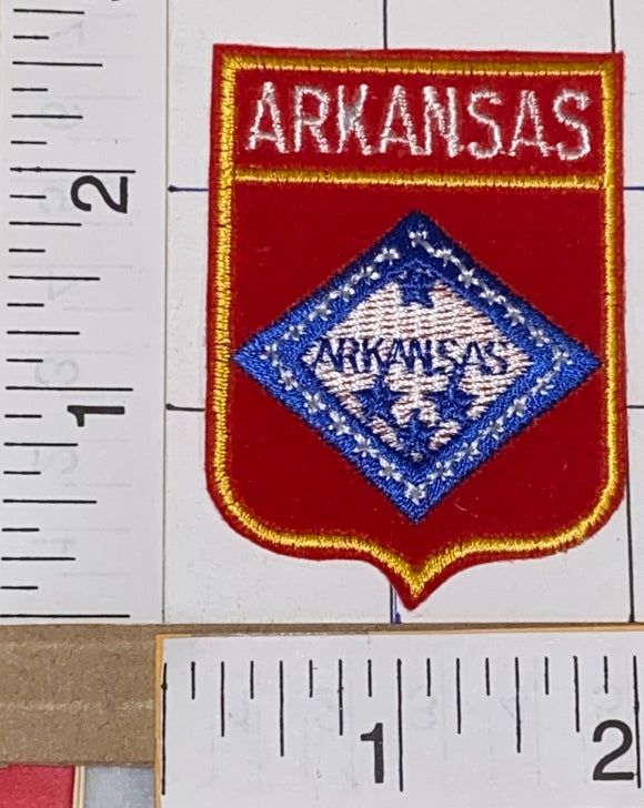 1 ARKANSAS USA UNITED STATES PATRIOTIC VOYAGER TRAVEL TOURIST PATCH