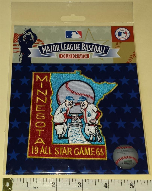 1965 ALL STAR GAME MLB BASEBALL OFFICIAL MINNESOTA TWINS EMBLEM PATCH MIP