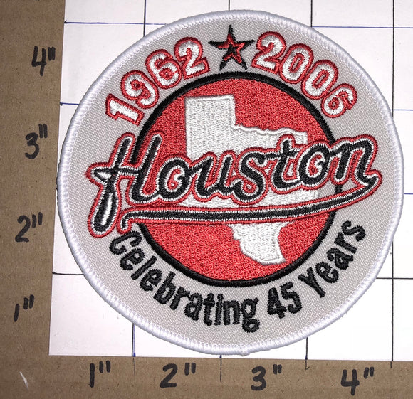 2006 HOUSTON ASTROS 45TH ANNIVERSARY CELEBRATING 45 YEARS MLB BASEBALL  PATCH