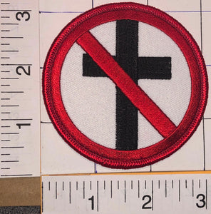1 BAD RELIGION AMERICAN PUNK ROCK HARDCORE PUNK ALTERNATIVE MUSIC CREST PATCH