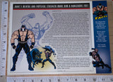 BANE SUPERVILLAIN DC COMICS GOTHAM CITY BATMAN WILLABEE & WARD PATCH