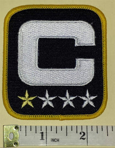 CHICAGO BEARS NFL FOOTBALL CAPTAIN 1 STAR * PATCH
