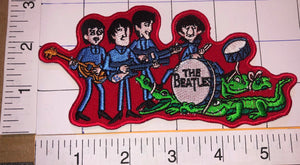 THE BEATLES ALLIGATOR MUSIC BAND JOHN PAUL GEORGE & RINGO PATCH