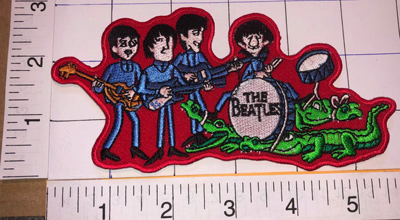 THE BEATLES TV SERIES CARTOON ROCK & ROLL BAND MUSIC PATCH