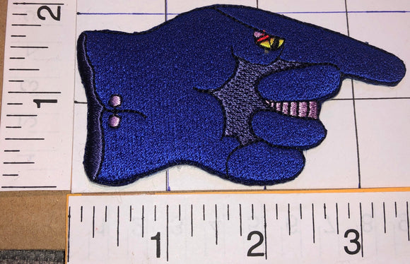 THE BEATLES BLUE MEANIE THE GLOVE YELLOW SUBMARINE ANIMATED CARTOON MUSIC PATCH
