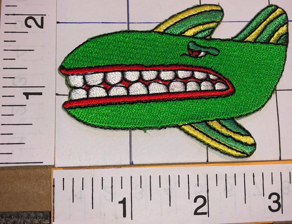 THE BEATLES GREEN WHALE YELLOW SUBMARINE CARTOON MUSIC EMBLEM PATCH