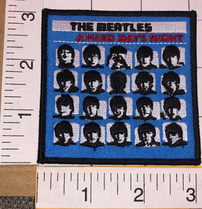 THE BEATLES A HARD DAY'S NIGHT ROCK & ROLL BAND ALBUM MUSIC PATCH